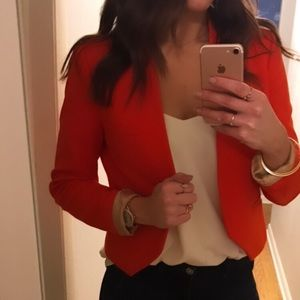 ZARA women's cropped blazer